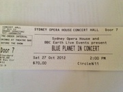 Sydney Opera House Concert tickets for sales